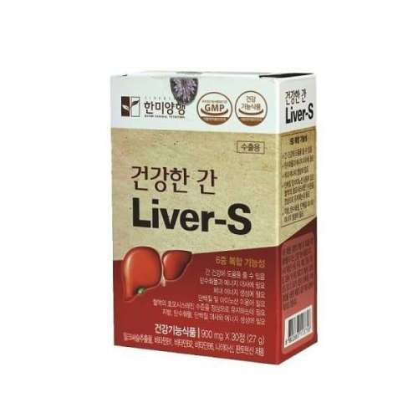 Thực phẩm chức năng healthy Liver-S dd2