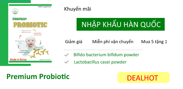 Men vi sinh Premium Probiotic hot deal anh ngang